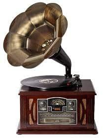 Grammophon kaufen - Schallplattenspieler im Grammophon Design