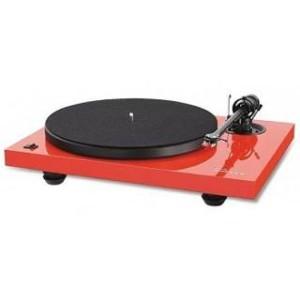 Music Hall mmf 2.2 Plattenspieler rot