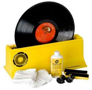 Schallplatten reinigen und waschen