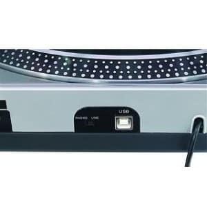 Omnitronic DD-2520 USB Plattenspieler nah