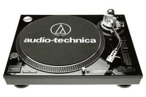 Audio Technica AT-LP120 USB-Plattenspieler schwarz