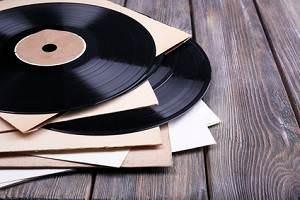 Schallplatten viele