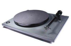 Rega RP1 Plattenspieler cool grey