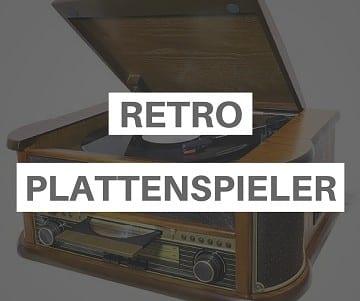 Retro Plattenspieler